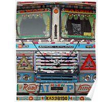 Mumbai Truck Poster
