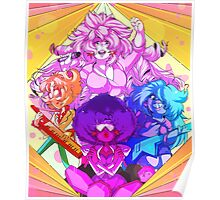 Rose and the Crystal Gems Poster