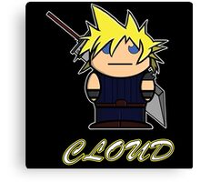 Cloud (Demonoid) Canvas Print