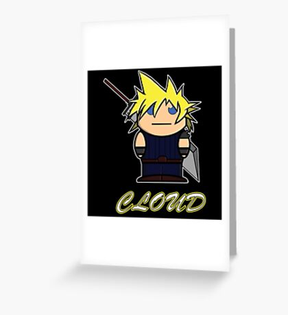 Cloud (Demonoid) Greeting Card
