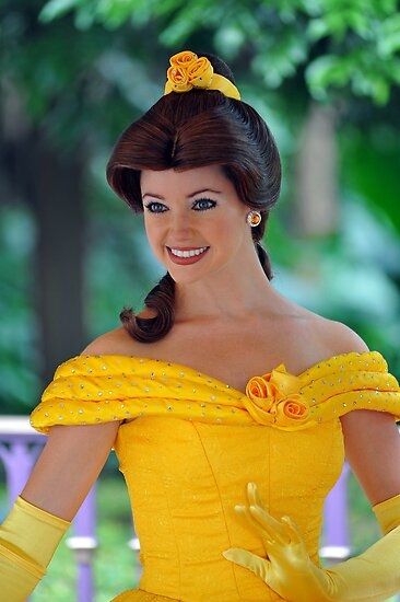 Belle at Hong Kong Disneyland. by Ralph de Zilva