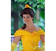 Belle at Hong Kong Disneyland. Photographic Print