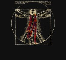 "Da Vinci Meets the Doctor - ""Reds"" (for Dark T-shirts) Unisex T-Shirt"