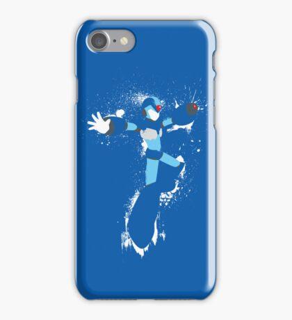 Mega Man X Splatterfest iPhone Case/Skin