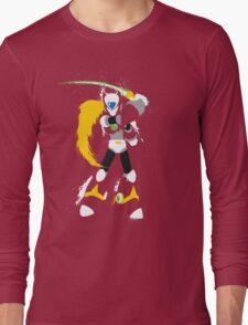 Splattery Maverick Hunter Zero  Long Sleeve T-Shirt