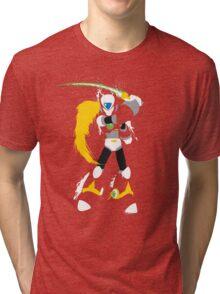 Splattery Maverick Hunter Zero  Tri-blend T-Shirt
