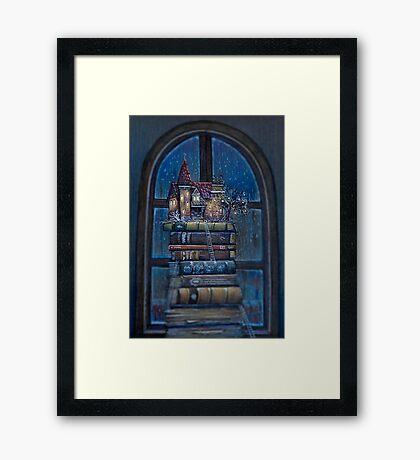Castle Book Framed Print