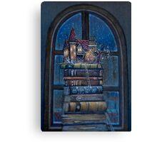 Castle Book Canvas Print