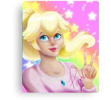 Peach Princess Canvas Print