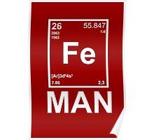 Fe (Iron) Man Poster