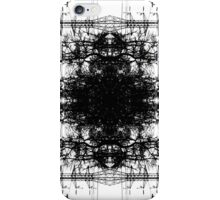 The Forest of Electricity Symmetrical Print iPhone Case/Skin