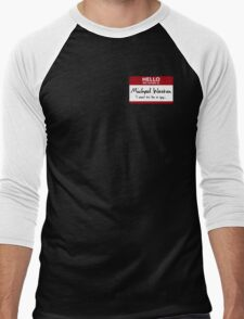 "Nametag Parody: Burn Notice - ""My Name Is Michael Westen"" T-Shirt"