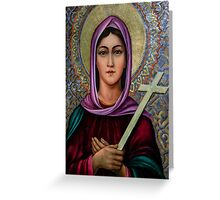 Zvartnots Cathedral, Armavir, Armenia  Interior Greeting Card