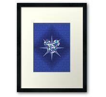 Diamond Mickey Framed Print