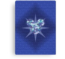 Diamond Mickey Canvas Print