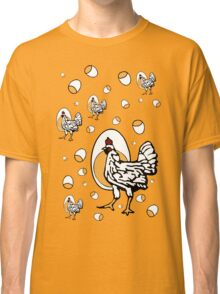 Retro Chickens Classic T-Shirt