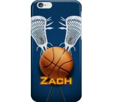 Basketball Lacrosse - iPhone Case iPhone Case/Skin