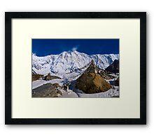 Annapurna Base Camp Framed Print
