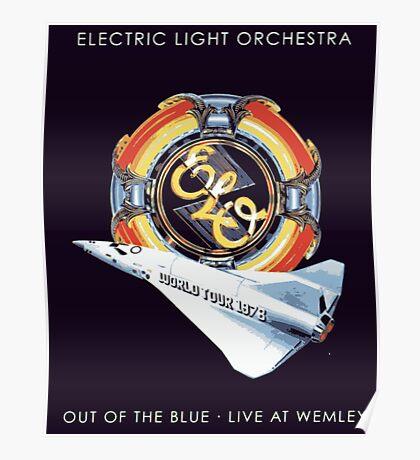 E.L.O. Live WEMLEY Poster