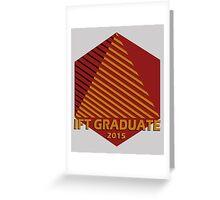 IFT Grad 2015 Greeting Card