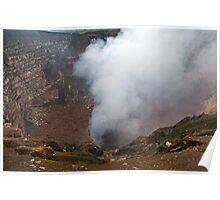 Masaya Volcano. Poster