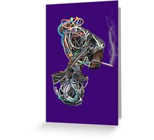 Wilma the Wire Woman Greeting Card
