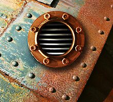 Steam Punk Portal 3 - iPhone Case by Christopher Herrfurth
