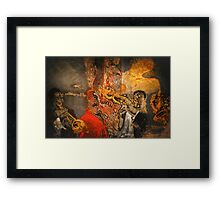 Louis Armstrong Framed Print