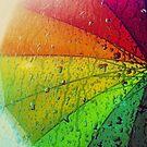 Rainbow umbrella by gregbriggs