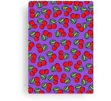 SUMMER EDITIONS - CHERRY Canvas Print
