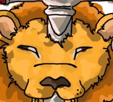 Gryffindor: Lion Sticker