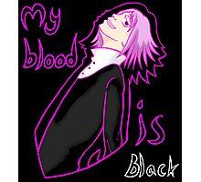 Crona: My blood is black Photographic Print
