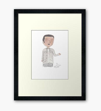Doctor Who - Mickey Smith Framed Print