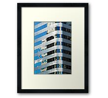 Denver reflection 9 Framed Print