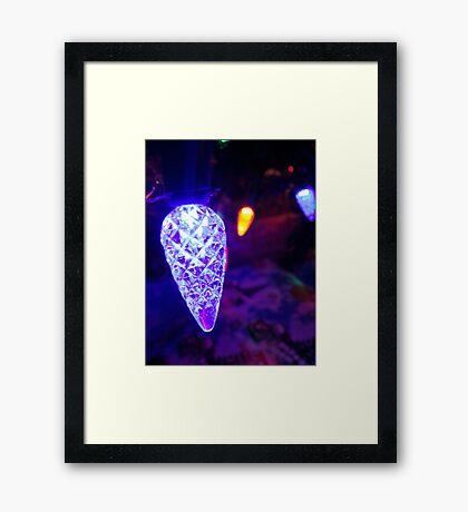 Shiny Christmas Framed Print