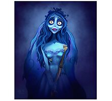 Emily The corpse Bride  Photographic Print