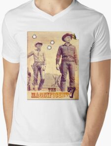 The Magnificent Two Mens V-Neck T-Shirt