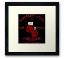 BATTLIN' JACK Framed Print