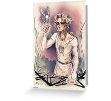 Forest Sage Greeting Card