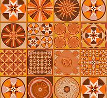 Pumpkin Time - Quasi-Quilt by IvieLeagueJots