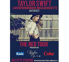 taylor swift - gillette stadium Photographic Print