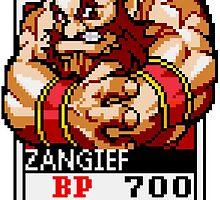 Zangief by Lupianwolf