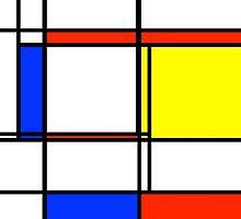 Mondrian: Color Block Central by Zane Walker