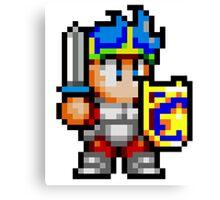 Wonder Boy - SEGA Master System Sprite Canvas Print