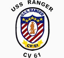USS Ranger (CV/CVA-61) Crest Unisex T-Shirt
