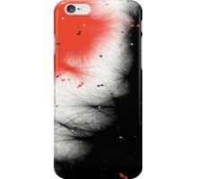 Red & Black Abstract iPhone Case/Skin