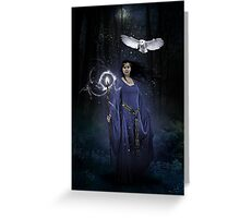 Blue Magic Greeting Card