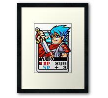 Ryu (BoF) Framed Print