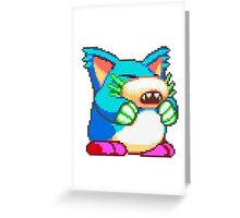 Pepelogoo Greeting Card