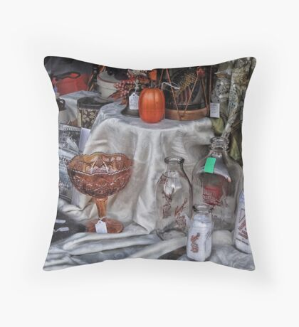 Lovely Old Display Throw Pillow